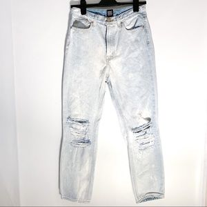 Urban Outfitters BDG Slim Straight Jeans Bleached